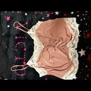 Topshop Sexy Lace Crop Top